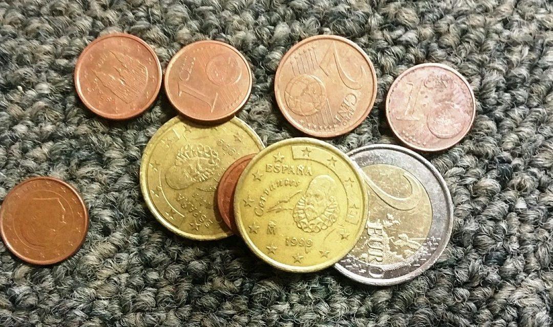 Unos euros al mes