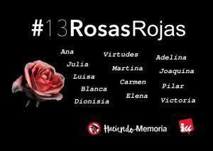 13 Rosas, 80 aniversario