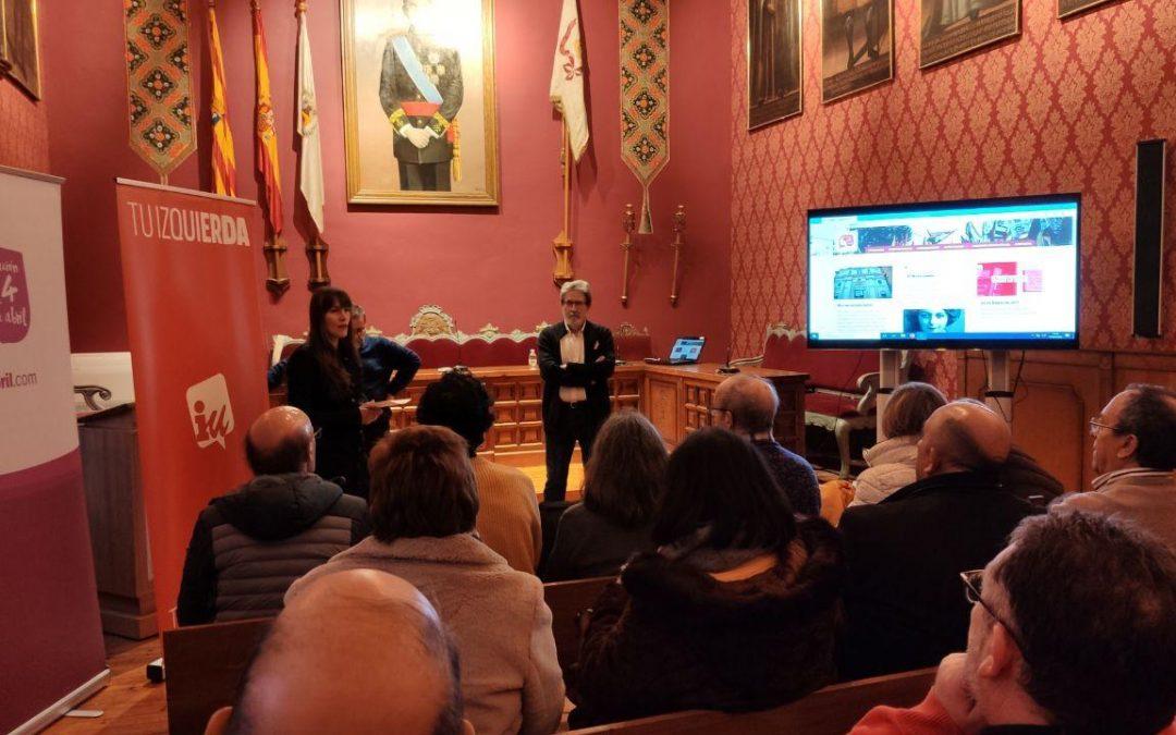 Borja, explicamos Ley de Memoria Democrática de Aragón